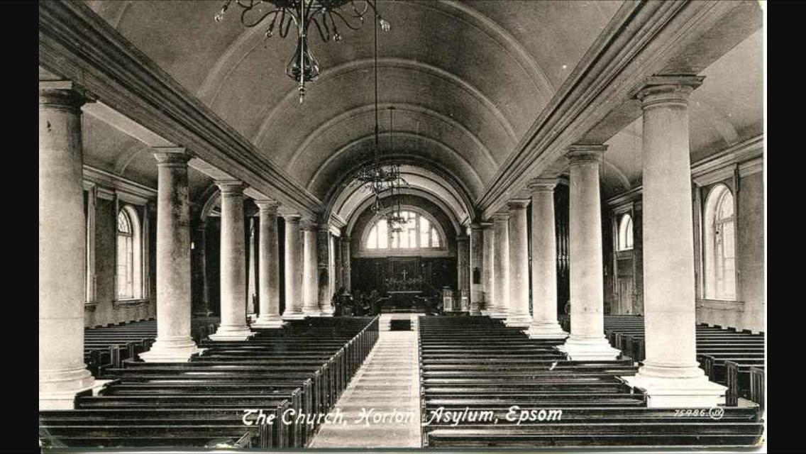 Victorian Postcard Horton Chapel